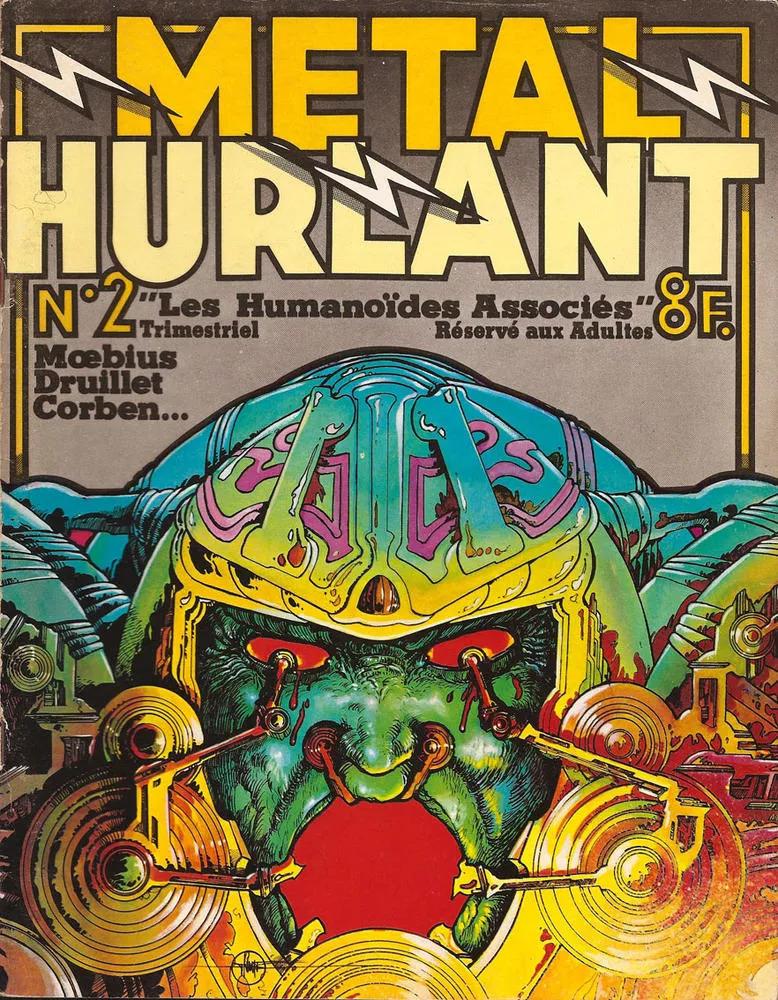 Metal Hurlant - Moebius, Druillet, Corben