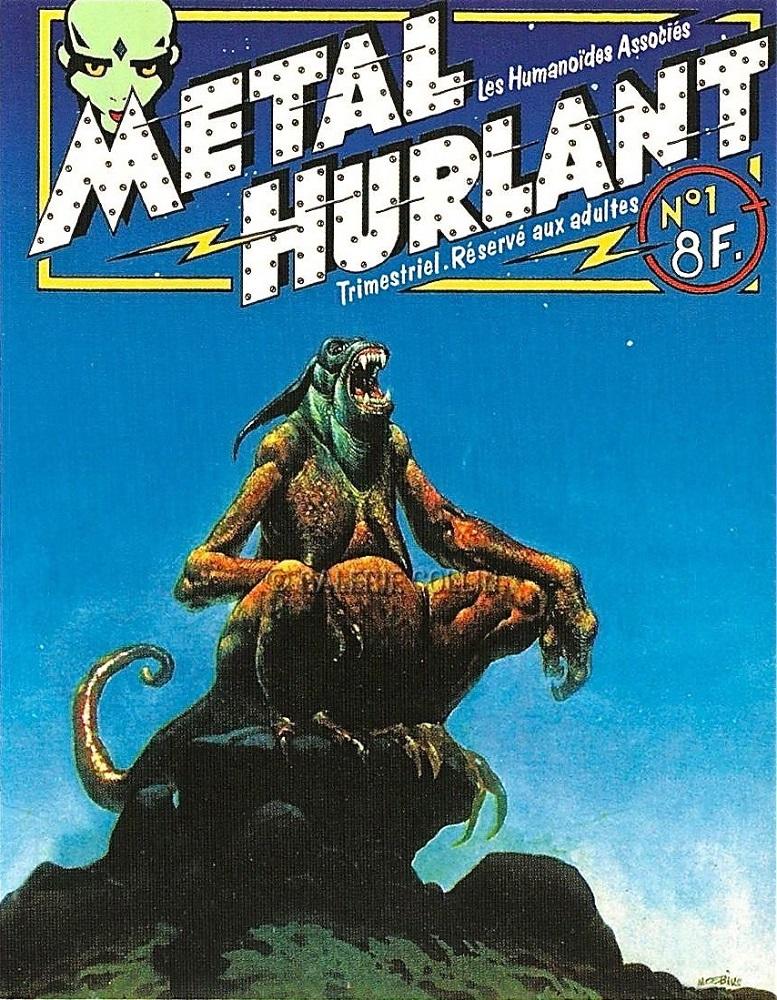 Metal Hurlant - Moebius