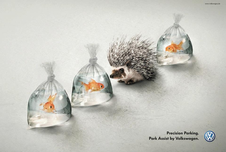 Creative ad - Volkswagen