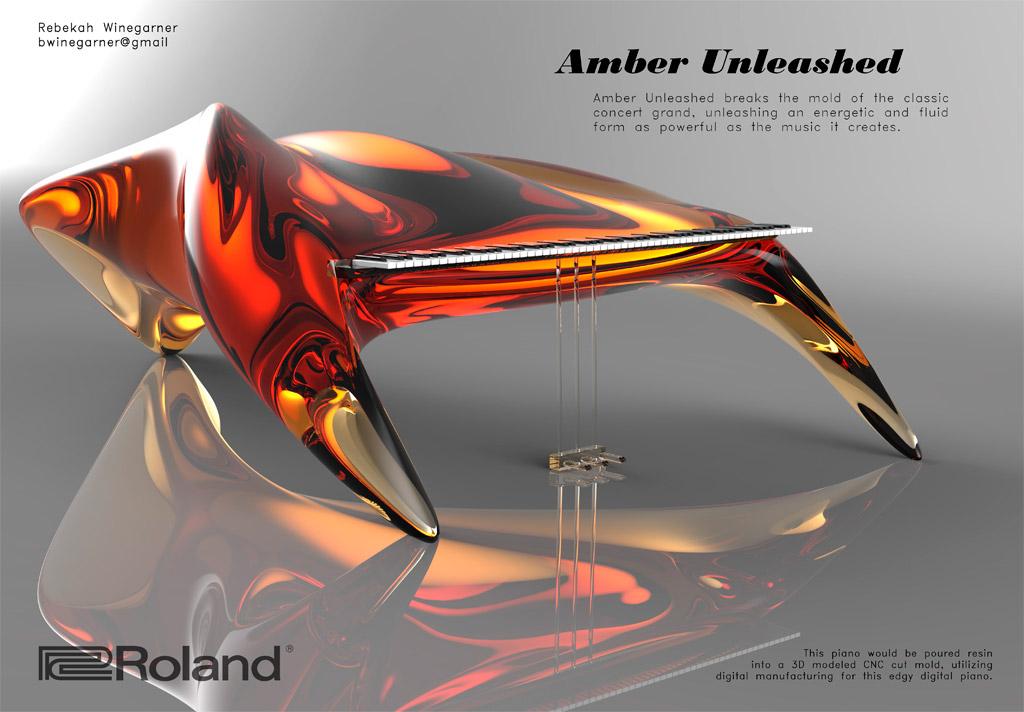 Amber Unleashed - Rebekah Winegarner