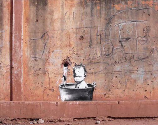 Banksy in Mali