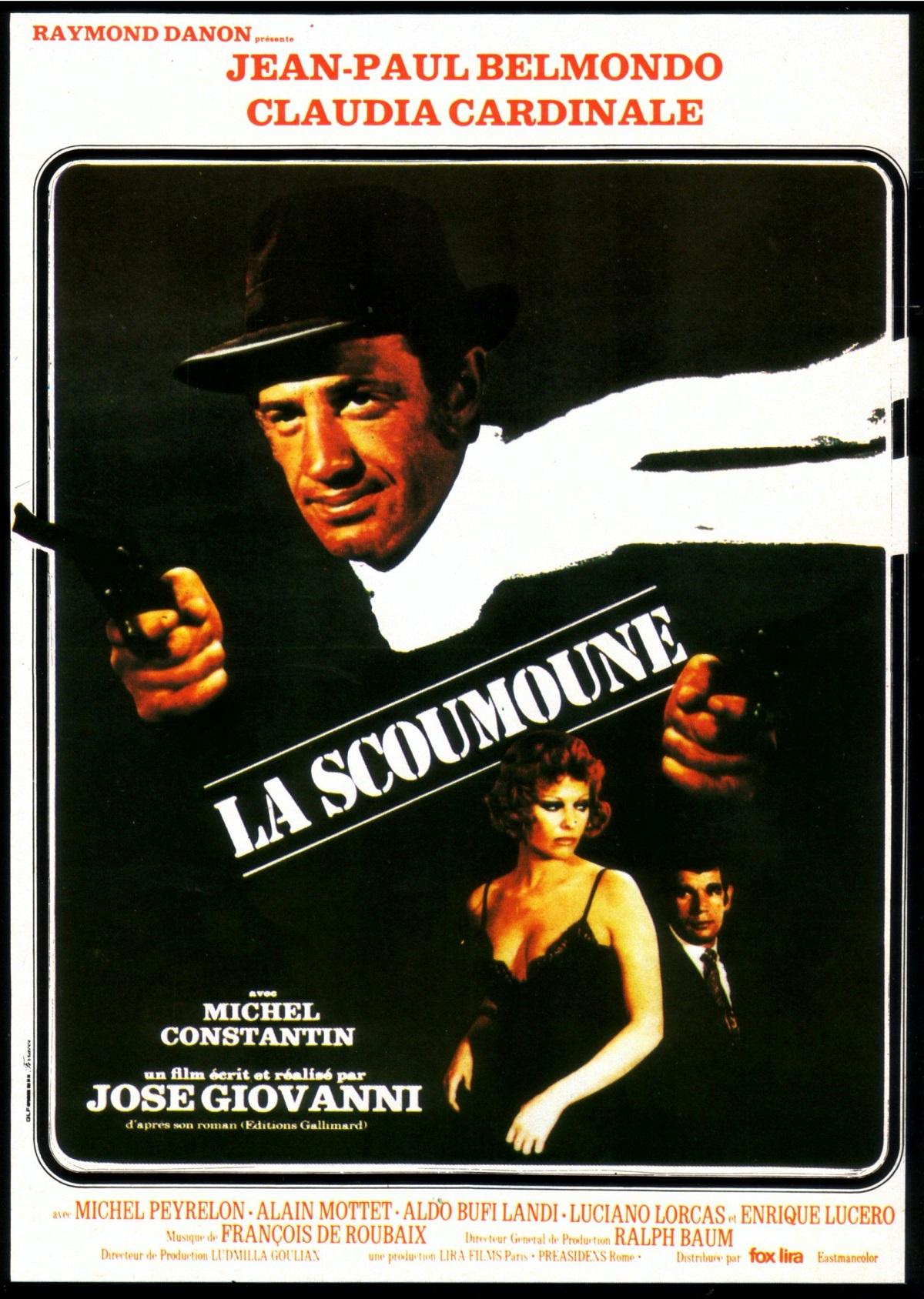 La Scoumoune - BOF François de Roubaix