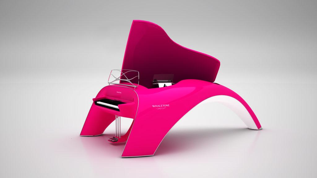 whaletone piano pink