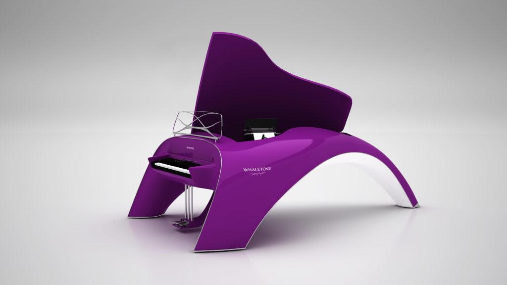 whaletone piano purple