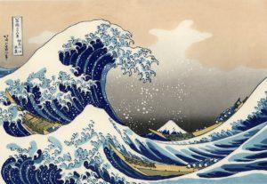 Big wave off Kanagawa