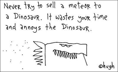 Dinosaurs & meteors