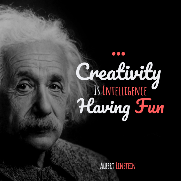 Albert Einstein - creativity - entreprise