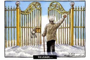 Nelson Mandela Madiba - cartoon