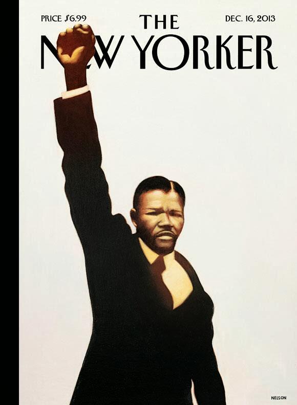 Nelson Mandela Madiba - New Yorker cover