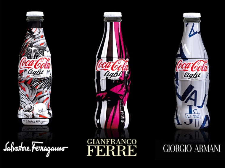 coca cola light tribute to fashion