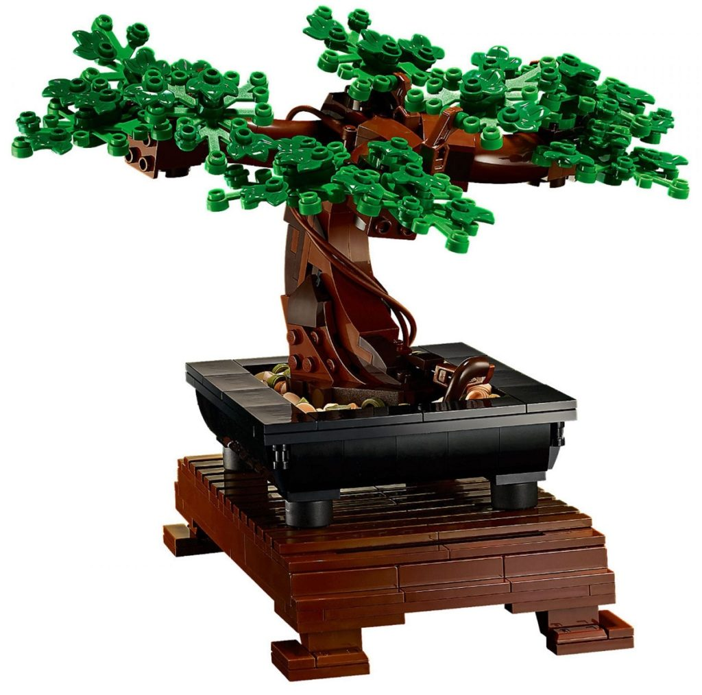 Lego Bonsaï - leafs
