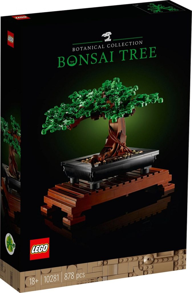 Lego Bonsaï - box
