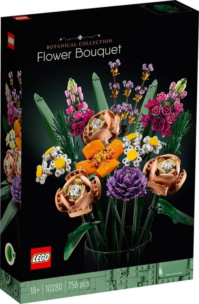 Lego Flowers - box