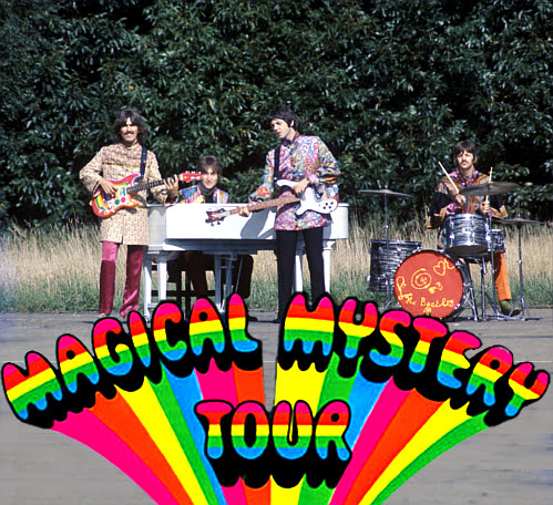 Magical Mistery Tour (filming the Walrus)