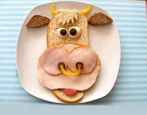 lunchtime foodart