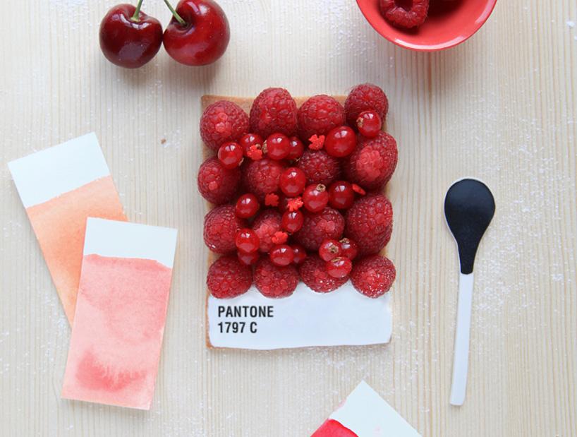 pantone food - tarts