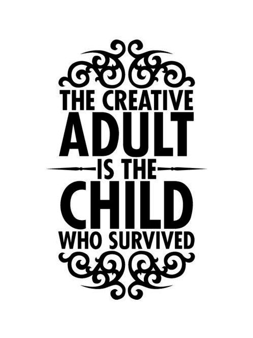 Creativity adult child