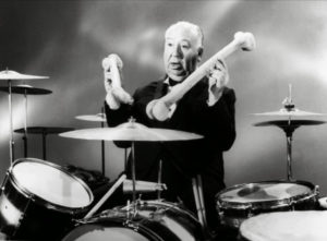 hitchcock on drums
