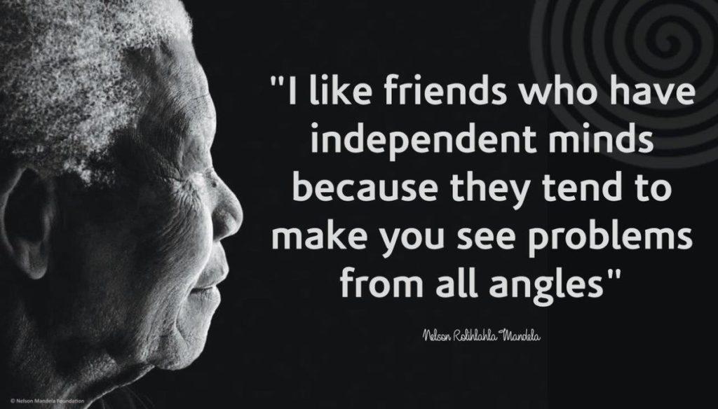 Mandela - independent mind