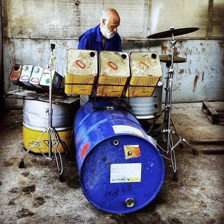 drums - recycling